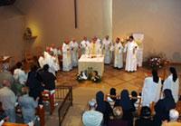 Messe au Carmel de Flavignerot