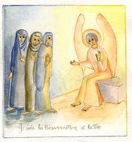 hurtebise anges Paques
