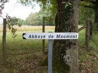 panneau abbaye maumont