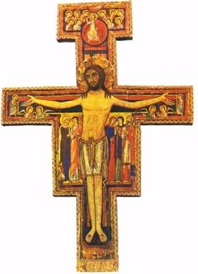crucifix saint françois d'assise