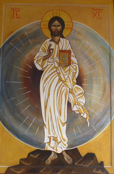 carmel saint maur christ transfiguration icone