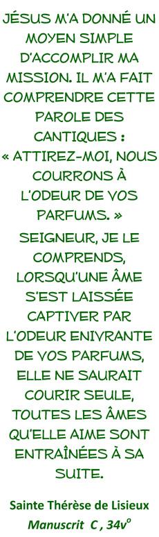 carmel saint maur sainte therese lisieux attirez
