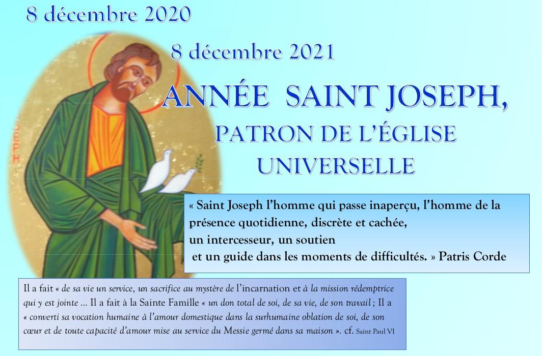 année St Joseph