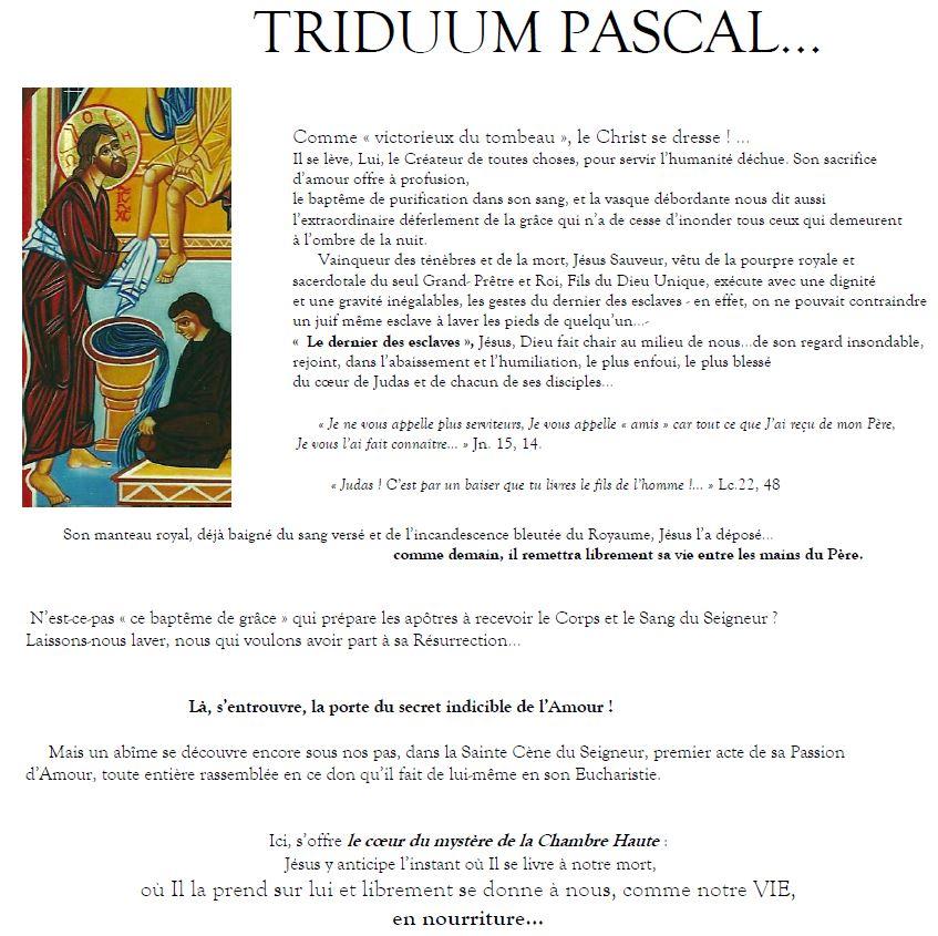 triduum pascal