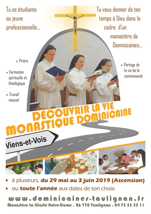 aff stage monastique 2019 Taulignan